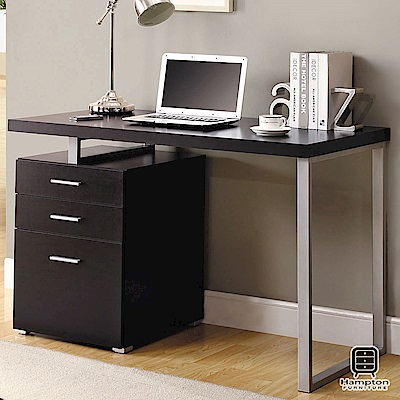 漢妮Hampton尼爾系列摩登電腦書桌(胡桃木)-120x60x76cm