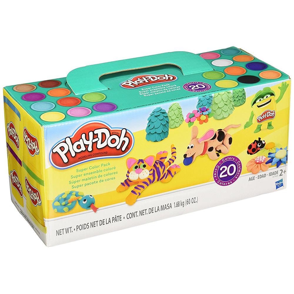 培樂多Play-Doh 創意DIY黏土 繽紛20色黏土組 A7924 (2Y+)