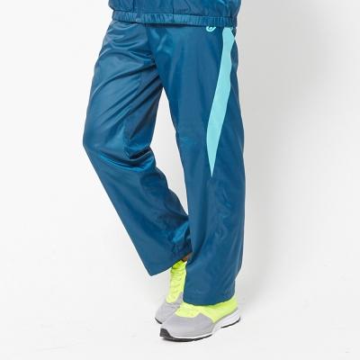 V.TEAM 雙色休閒風衣長褲-男-藍