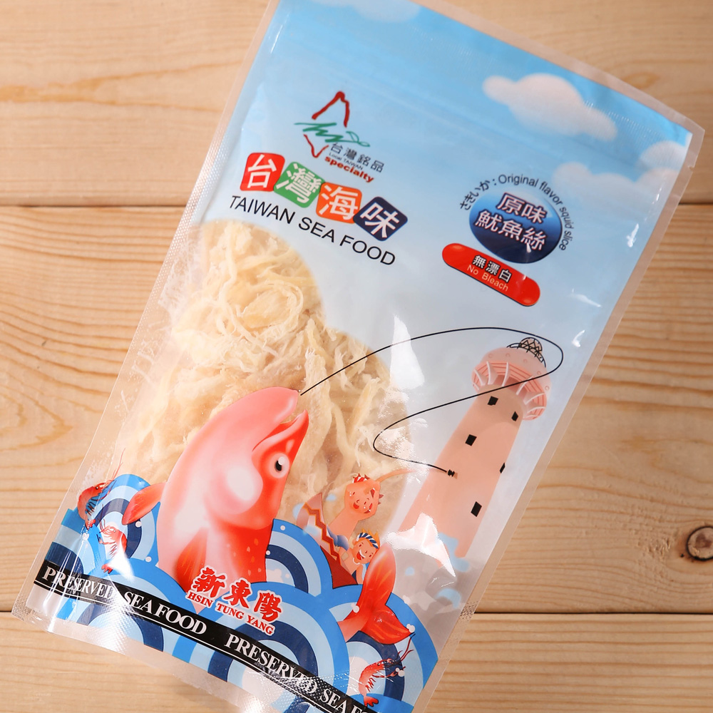 新東陽 台灣海味-原味魷魚絲(100g)
