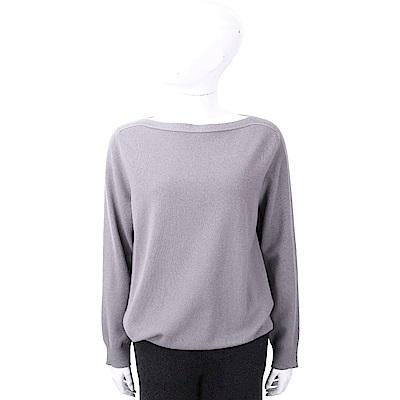 FABIANA FILIPPI 喀什米爾金蔥細節藕灰色美麗諾羊毛衫