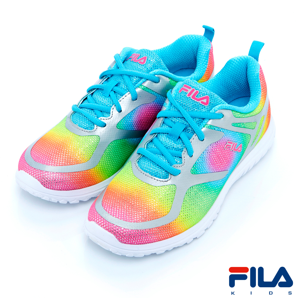 FILA KIDS大童跑鞋-彩3-J817R-777