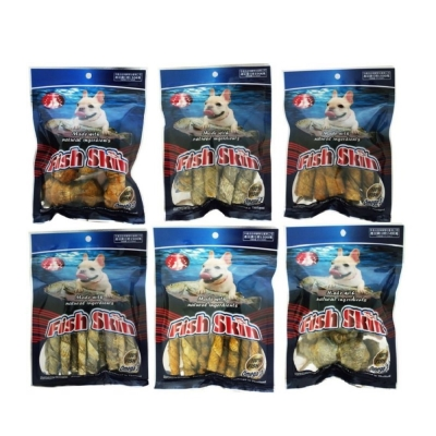PV FishSkin 鱈魚皮系列狗零食 100g (單包)