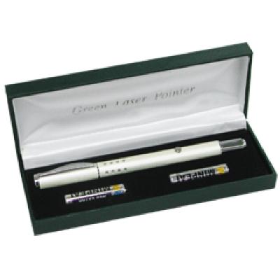 綠光24孔型雷射指示筆/簡報器(珍珠白)LGP-1