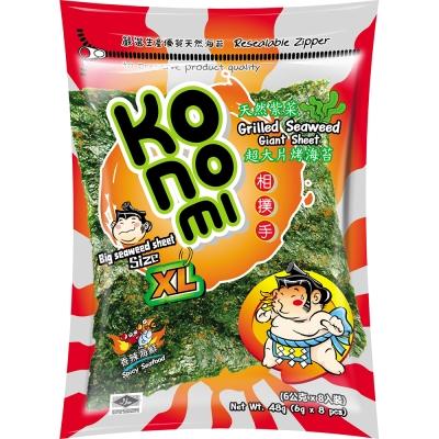 Konomi相撲手 超大片烤海苔-香辣海鮮(48g)