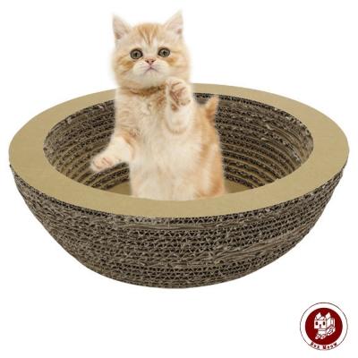 Box Meow 瓦楞貓抓板-貓盆 (CS006)