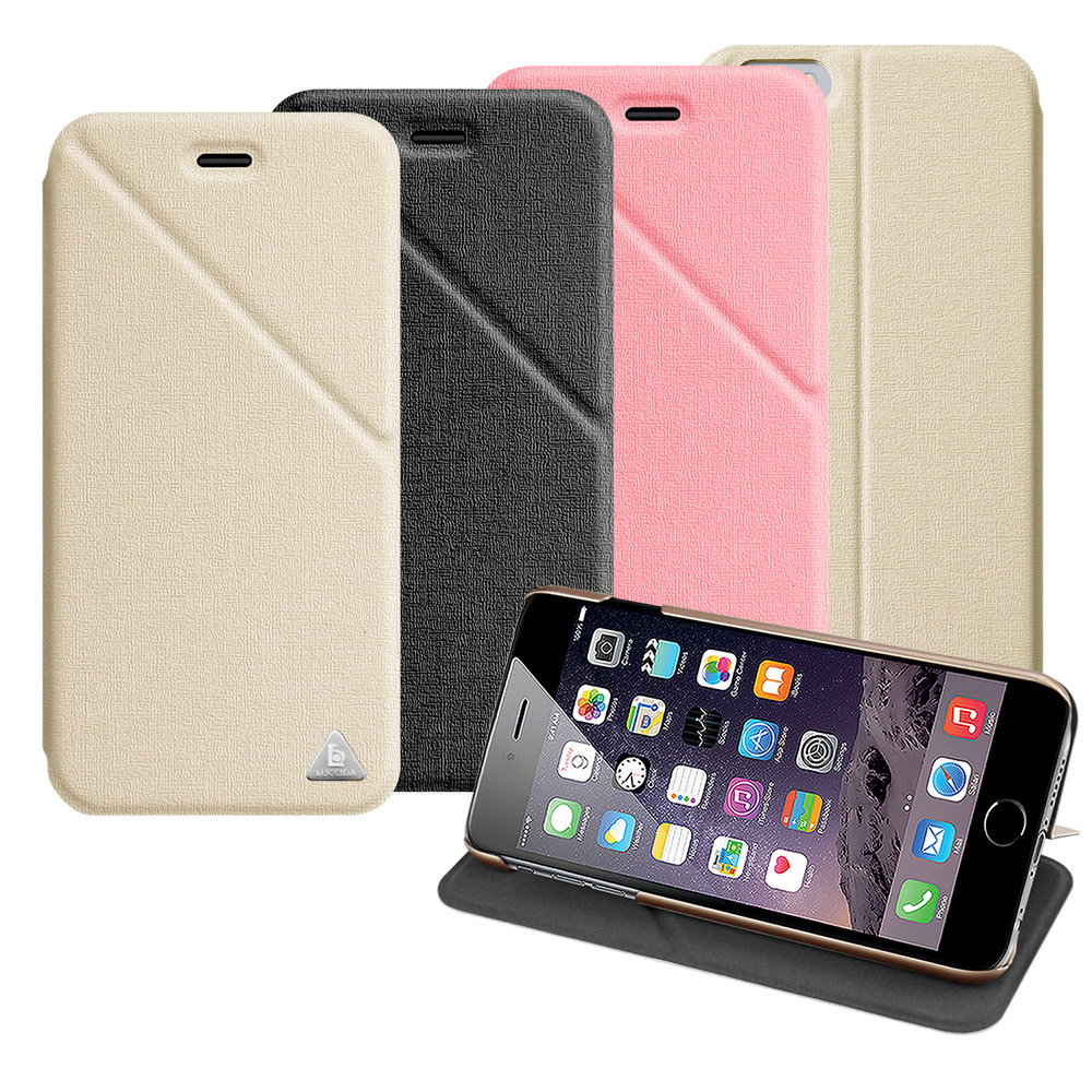 LUCCIDA Apple iphone6 Plus 5.5吋 三角易拍磁吸超薄皮套