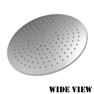 WIDE VIEW 超薄不袗增壓10吋圓形頂噴蓮蓬頭(ZU-SH02)