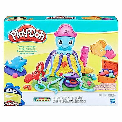 培樂多Play-Doh 創意DIY黏土 彎彎章魚遊戲組 附中文說明書 E0800
