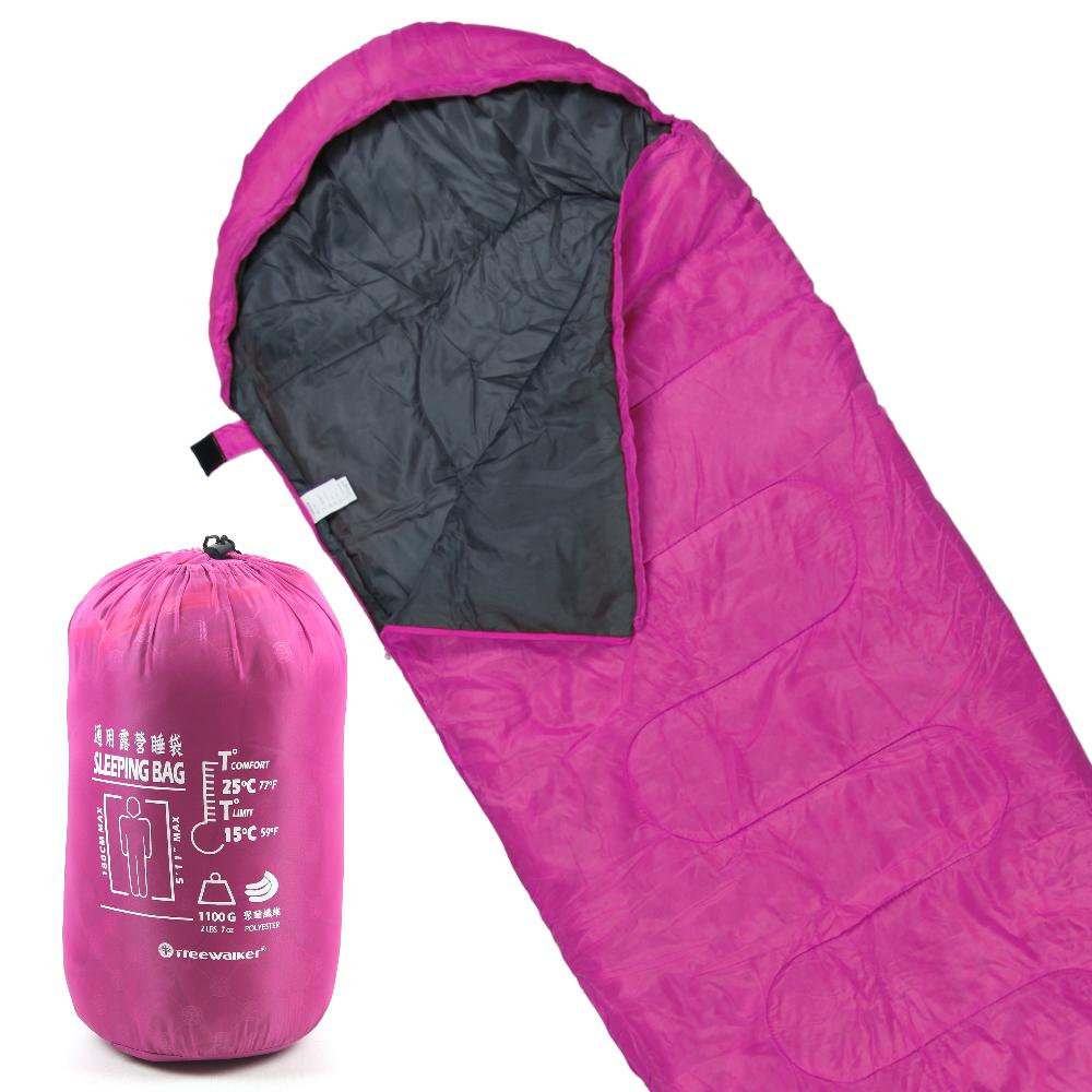 TreeWalker 通用露營睡袋-紫羅蘭