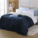 DON多瑙藍 羊羔絨加大厚毛毯(6x7尺)