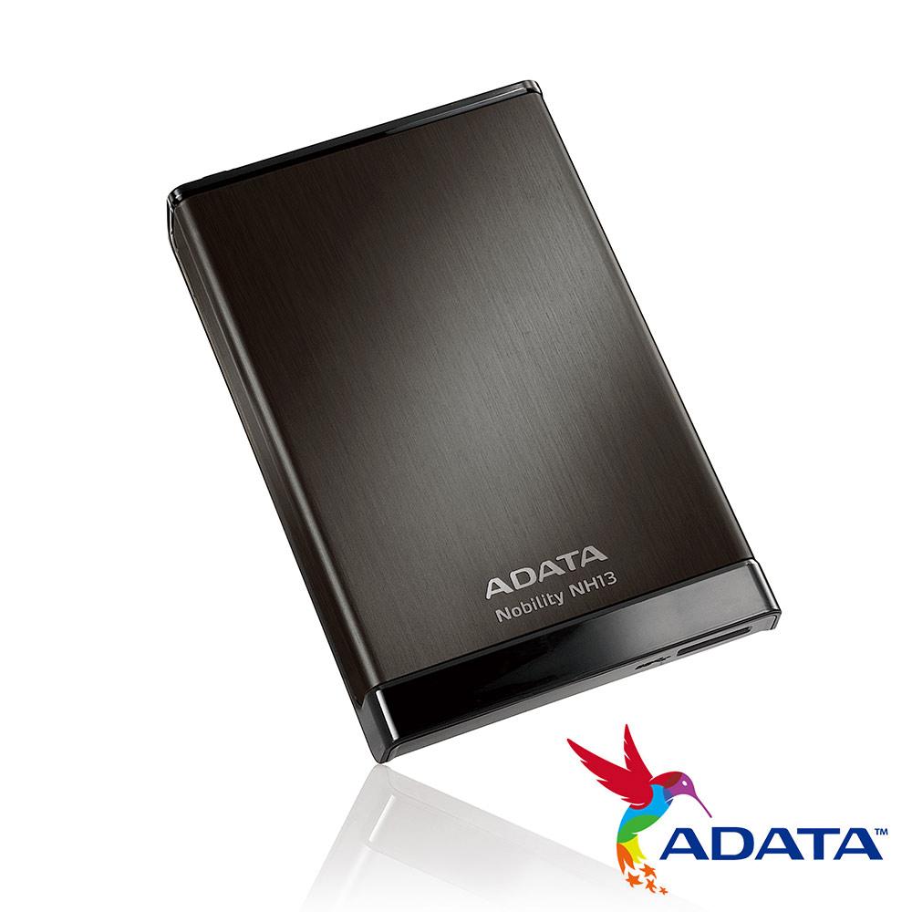 ADATA威剛 NH13 1TB(星鑽黑) USB3 2.5吋輕巧行動硬碟