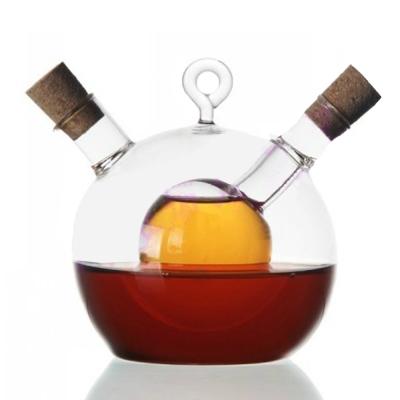 PUSH! 廚房用品餐具醋醬油瓶調味瓶人工吹製