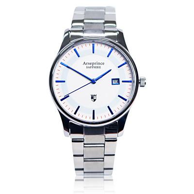 Arseprince 極簡品味風格時尚中性錶-藍色/32mm