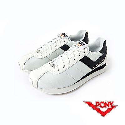 【PONY】Roadrunner 系列-經典復古鞋-女性-白