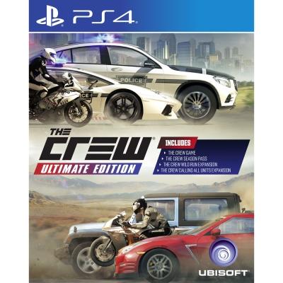 飆酷車神-終極版-PS4-英文版