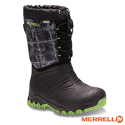 MERRELL SNOW QUEST BOOT WP 防水童靴-黑(56215)