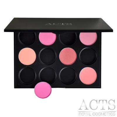 ACTS-維詩彩妝-12色DIY腮紅修容盤-自行選色搭配