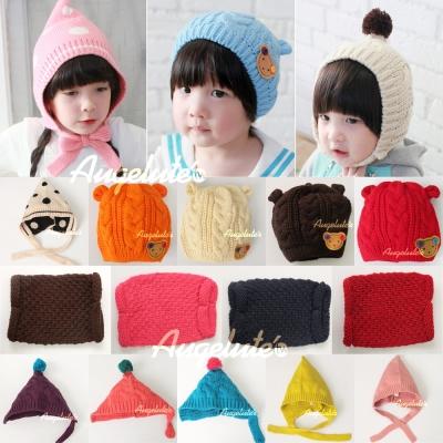 baby童衣 寶寶加厚毛帽 F1034
