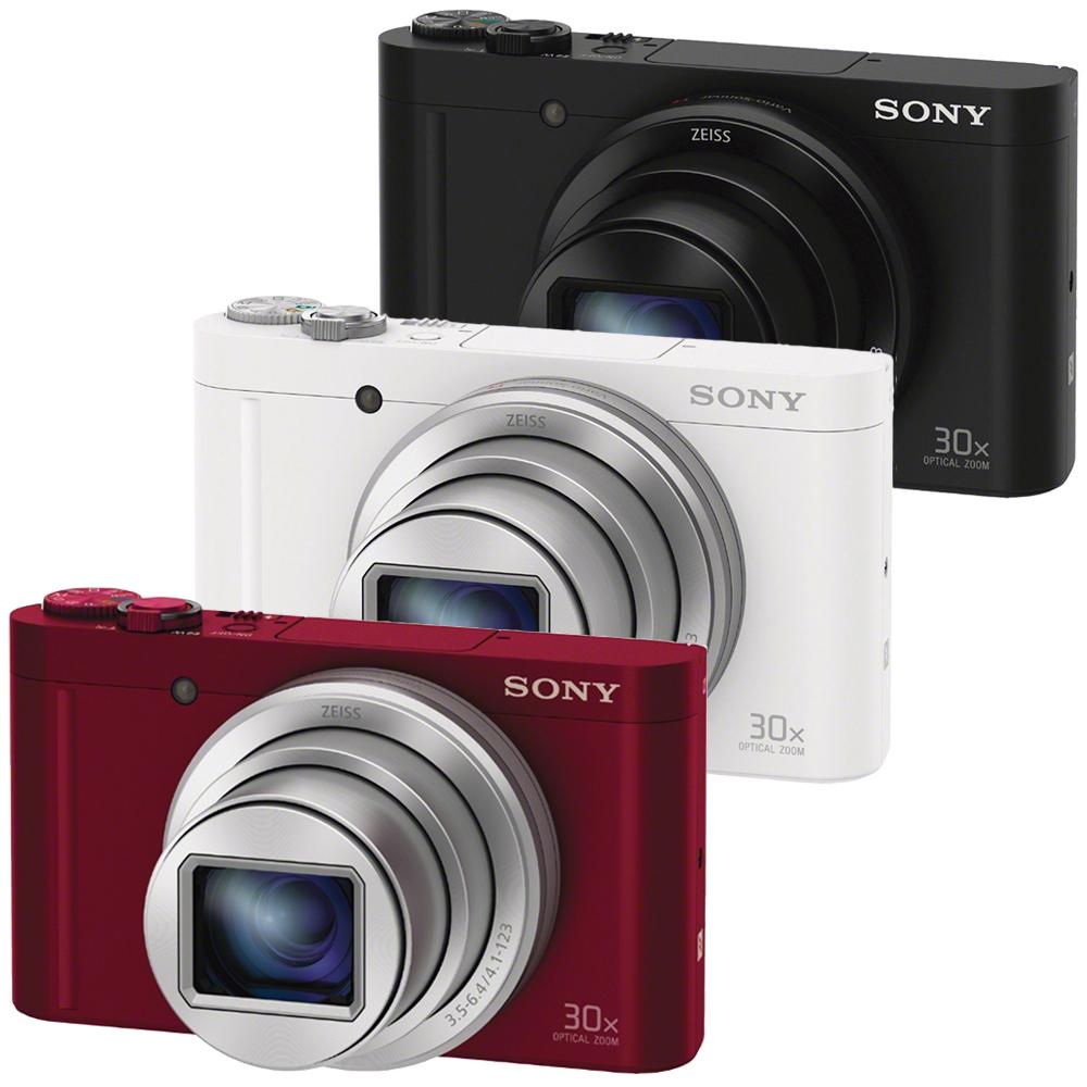 SONY WX500 全新翻轉自拍 WiFi 數位相機(公司貨)