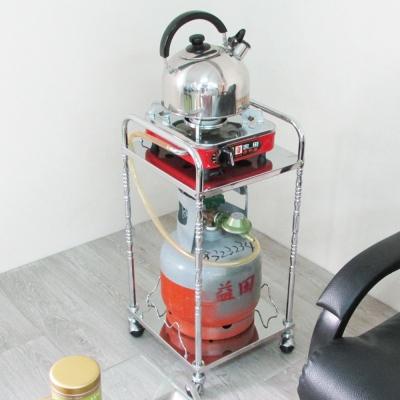 Amos-樂活時尚單茶車/泡茶收納架(W31*D28.5*H63.5CM)