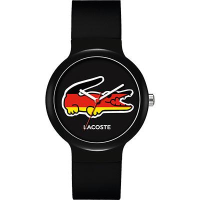 Lacoste 國旗系列世足賽熱血腕錶-德國/40mm