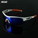 Nessie尼斯眼鏡 - 偏光運動太陽眼鏡(競速白) 抗紫外線 自行車 慢跑 登山-快速