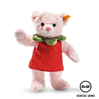 STEIFF德國金耳釦泰迪熊 - Rose Strawbeary Teddy(經典泰迪熊)