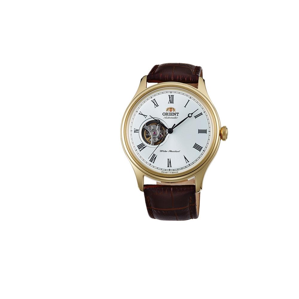 ORIENT 日本 東方錶 關鍵報告 簍空機械錶(FAG00002W)-金/40.2mm