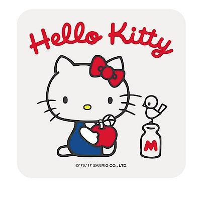 【三麗鷗獨家授權】Hello Kitty繽紛彩繪杯墊/皂盤-獨樂樂