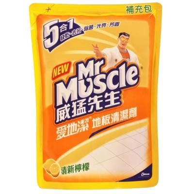 威猛先生愛地潔補充包-清新檸檬1800ml