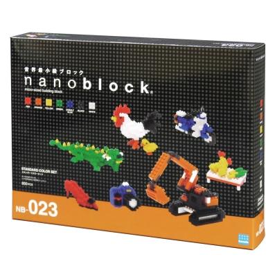 NanoBlock迷你積木 - 彩色基本組 NB023