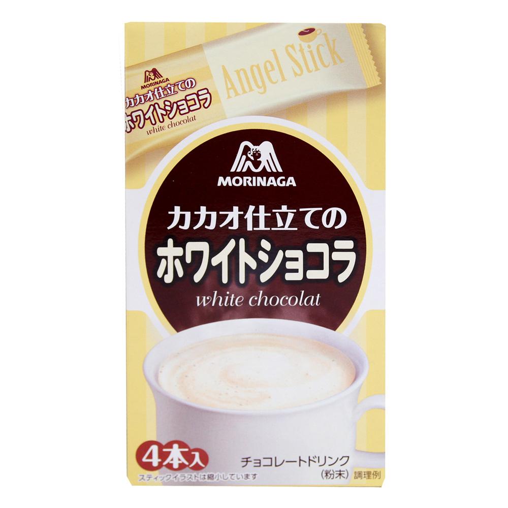 森永  沖調白巧克力4P(80g)