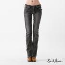 Earl Jean 粗車線低腰小靴型褲-灰-女
