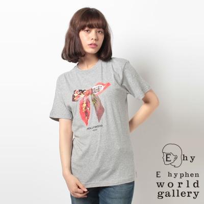 E hyphen world gallery 好萊塢聯名蝴蝶結T恤