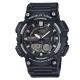 CASIO 悍將世界城市玩家雙顯運動錶(AEQ-110W-1A)-黑/46.6mm product thumbnail 1