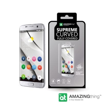 AmazingThing 三星 Galaxy S7 Edge 3D曲面強化玻璃保...