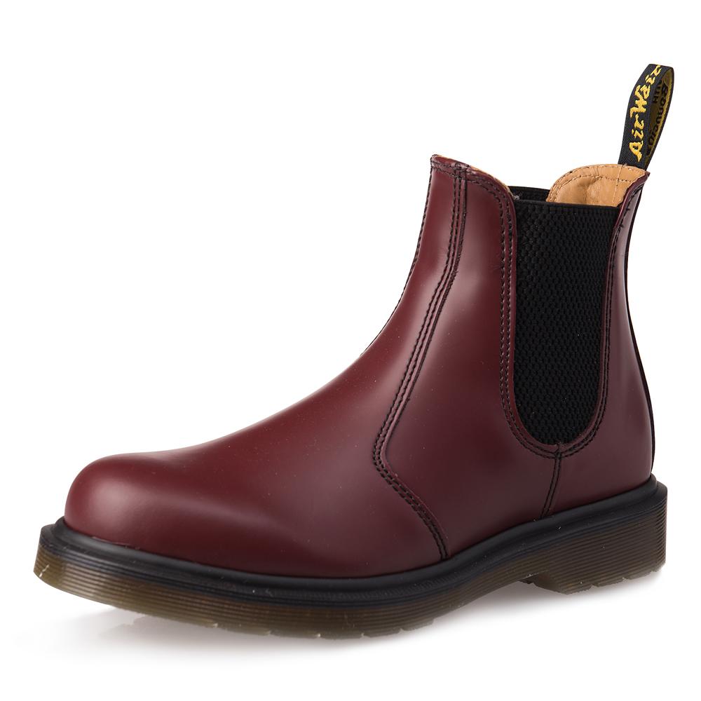 Dr.Martens-2976側邊鬆緊短靴-女款-櫻桃紅