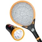 KINYO大網面手電筒電蚊拍CM2218
