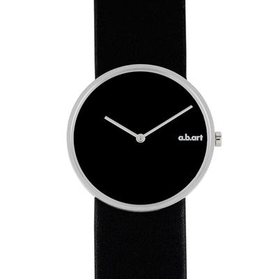 a.b.art D系列 摩登極簡都會時尚腕錶-黑/34mm