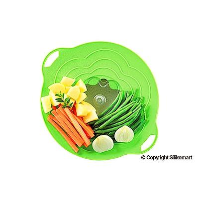 義大利製SiliKoMart專利防漏-聰明蒸煮鍋蓋(S)-綠