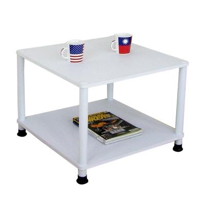 MIT-免工具DIY-收納邊桌-素雅白色