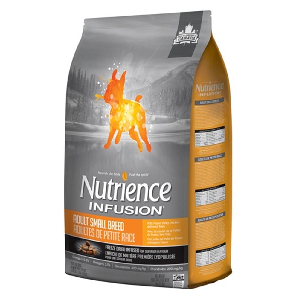 紐崔斯Nutrience INFUSION天然小型成犬《雞肉》犬糧2.27KG