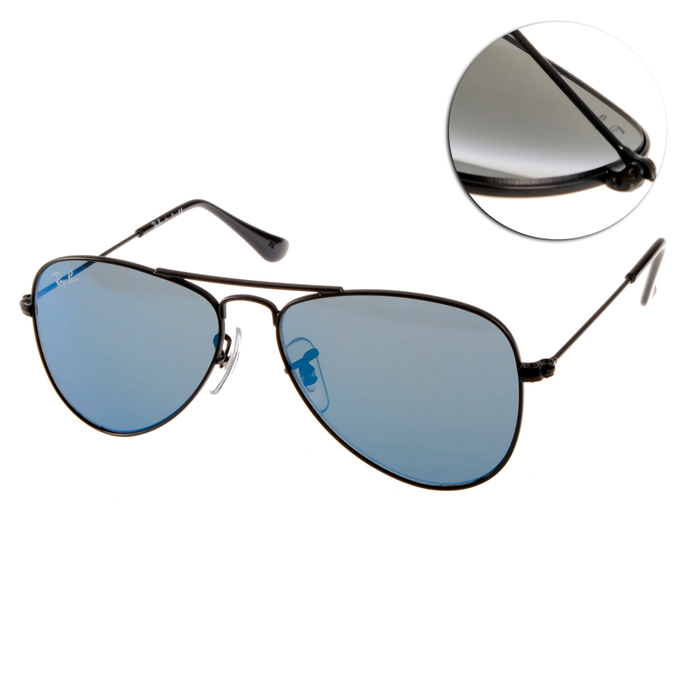 RAY BAN太陽眼鏡 兒童款/黑#RJ9506S 20155