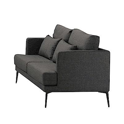 品家居 里奇棉麻布實木沙發雙人座-159x82.5x68.5cm-免組