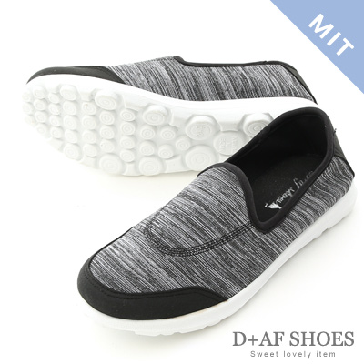 D+AF 舒適好穿.MIT超輕量休閒健走鞋*黑