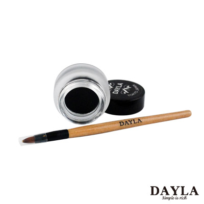 DAYLA 零脫粧時尚|防水眼線膠 附筆/咖啡色