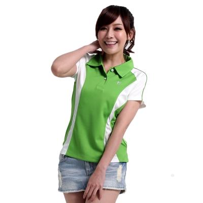 【遊遍天下】女款抗UV吸濕排汗機能POLO衫MS019綠