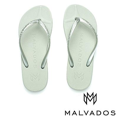 【Malvados 魅凡朵】基本款人字拖 playa 普拉雅《凍霜》