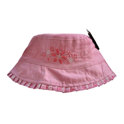 英版-兒童雙面配戴遮陽春夏盆帽